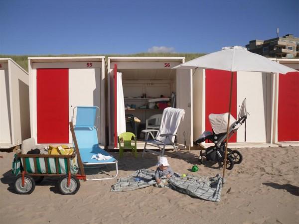 Covente Vakantiehuis - Strandcabine inclusief strandbenodigdheden